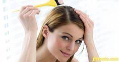 Evde doğal saç boyası tarifi için tıklayın.
