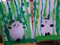 Bamboe en panda