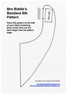 Biddle Bandana Bib Pattern.pdf - Google Drive