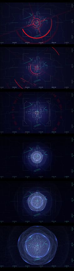 IMAG1NE. Cool conceptual UI. Robyn describes this drone-style tracking of alien signals within a ground facility (like Roswell). #UI