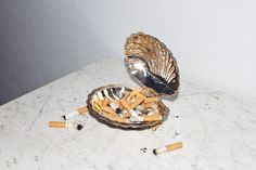 At least make your ash tray something pretty
