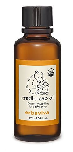 #bathing An effective organic alternative treatment for cradle cap and other scalp conditions, #Erbaviva cradle cap oil is infused with lemon eucalyptus, a natur...