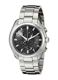 Men's Wrist Watches - Citizen Mens CA002056E EcoDrive Titanium Watch >>> Continue to the product at the image link. (This is an Amazon affiliate link)