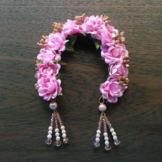 Picture from Ami Mane Handcrafted Jewellery Photo Gallery on WedMeGood. Browse more such photos & get inspiration for your wedding Plan Your Wedding, Wedding Blog, Wedding Planning, Silk Thread Bangles Design, Flower Hair Accessories, Photo Jewelry, Diy Hairstyles, Flowers In Hair, Handcrafted Jewelry