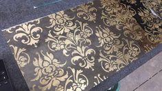 Damask pattern backsplashes are now available Antique Mirror Glass, Backsplash, Damask, Antiques, Pattern, Antiquities, Antique, Damascus, Damasks