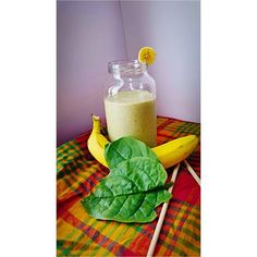 """""""Spinach & Banana Smoothie for Brunch!  Very tasty and filling!  #HealthyEating #HealthyDrinking #AhWeSayBlogPost #MadrasInYaRasss """""""