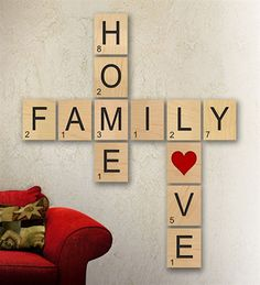 On brown paper, draw Scrabble-style letters and use to decorate the walls for a game night themed party.