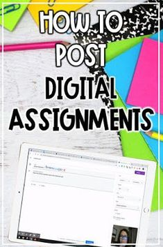 Learn how to post digital assignments through Google Classroom and Schoology by following the steps and video to help in the eLearning classroom. These great tips are for any grade, Elementary through High School. Check it out! Upper Elementary Resources, Elementary Science, Teaching Science, Teaching Ideas, 7th Grade Classroom, Middle School Teachers, High School, Educational Websites, Google Classroom