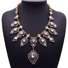 Купить товарZ стиль винтажный уникальный воротник ожерелье кулон большой нагрудник коренастый себе ожерелье ювелирные изделия для женщины ожерелье в категории Кольена AliExpress.  \