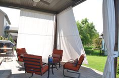 Outdoor Sun Shade Drop Cloths Hobbit Curtains Insulated Blinds The