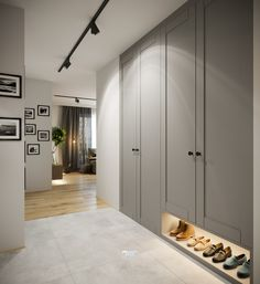 Wnętrze mieszkania o jakim marzysz Hallway Decorating, Interior Decorating, Interior Design, Marble House, Flat Ideas, Wardrobe Closet, Apartment Design, Home Furniture, Architecture Design