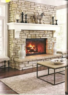 wrap around fireplace mantel. Wrap around mantle for Master French Country Mantle with corbels  Fireplace and