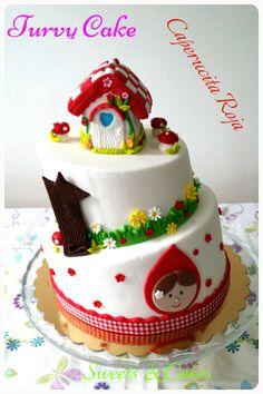 Topsy Turvy Cake: Caperucita Roja...