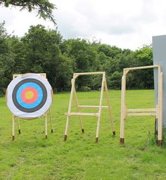 Target Archery Stand Plans - CalcResult Reference Designs
