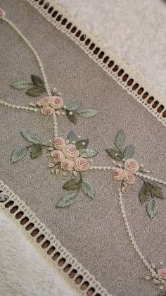 Enchanting Ribbon Embroidery Flowers by Hand Ideas Wonderful Ribbon Embroidery Flowers by Hand Ideas. Enchanting Ribbon Embroidery Flowers by Hand Ideas. Hand Embroidery Patterns Flowers, Hand Embroidery Videos, Embroidery Flowers Pattern, Flower Embroidery Designs, Embroidery Techniques, Hand Embroidery Stitches, Embroidery Hoop Art, Hardanger Embroidery, Silk Ribbon Embroidery