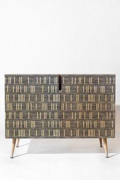 Holli Zollinger BOGO DENIM MUDCLOTH LIGHT Credenza   DENY Designs Home Accessories
