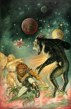 marcus boas - science fiction illustration