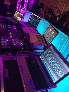 When a client asks if we have backup equipment..yes we do! 4 laptops just incase #weddingwednesday #bridalparty #music #dj #wedding @thegrandview @PokGrand @piernine