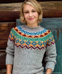 Strickanleitung Zum Downloaden Norwegerpulli Knitting Pinterest