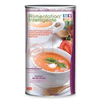 soupe tomate basilic    Riche en couleurs, ce velouté est un fin mouliné de tomates juteuses et généreuses rehaussé d'une pointe de basilic. Une vrai saveur à l'italienne !