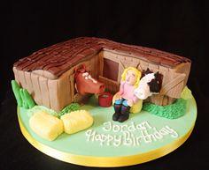 Horses birthday cake