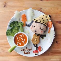 AMAZING FOOD ART FOR KIDS