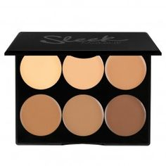 Sleek MakeUP Cream Contour Kit Medium korostus- ja varjostusväripaletti