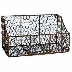 """12"""" Chicken Wire Bin, Pack of 2 - Walmart.com"""