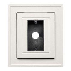 Durabuilt 8.5-In X 8.5-In Linen/Pebble Vinyl Electrical Mounting Block