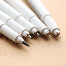 24 adet/grup Çok iğne çizim kalem Marvy karikatür işaretleyici fırça Liner pigment kalemler Anime Kırtasiye okul malzemeleri 6861(China (Mainland))