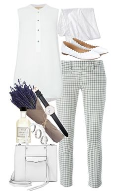 """Inspired by Audrey Hepburn"" by nikka-phillips ❤ liked on Polyvore featuring Merona, Dondup, Michael Kors, ASOS, Chloé, Fresh, Rebecca Minkoff and Daniel Wellington"