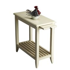 You should see this Loft End Table in Distressed Cottage White on Daily Sales!