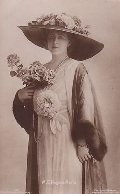 Königin Marie von Rumänien, Queen of Romania nee Princess of Edinburgh 1875 – 1938
