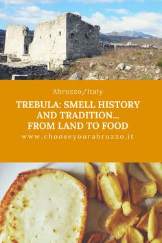 A fascinating walk that will enable us to spend an exciting and memorable day.The old Roman town of Traebula. It is located on the eastern slopes of the Majella Mountain and near Quadri, the city of Truffle. Abruzzo, Italy  #travel #tourism #travelling #journey