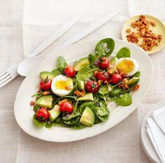 Ein Traum von Salat: bunt, voller Vitamine und Bio-Aktivstoffe und erst der Geschmack...
