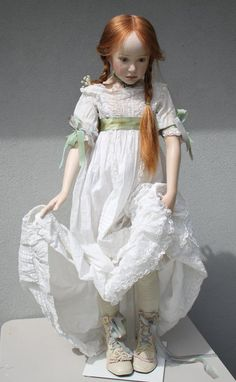 Porcelain doll by Jeanne Gross