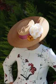 The Hat. canotier ala ancha Ivy