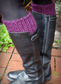 Lacy Crochet: My New Warm and Comfy Boot Inserts: FREE basic tutorial