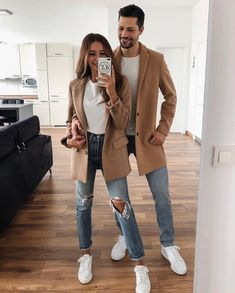 Tag your matchy matchy partner ❤ Pictur Edgy Outfits, Fall Outfits, Cute Outfits, Fashion Outfits, Christmas Outfits, Rock Outfits, Fashion Clothes, Fashion Accessories, Matching Couple Outfits