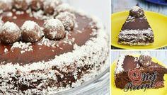 V práci mi kolegyně nabídla koláček s dotazem, zda uhádnu, což je základní surovinou dortu. Zkoušela jsem všechno, ale netrefila jsem se. Zkuste i vy potrápit své hosty, zda uhodnou :) Autor: Adkas Healthy Sweets, Healthy Baking, Tiramisu, Cheesecake, Low Carb, Gluten Free, Pudding, Vegan, Ethnic Recipes