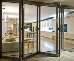 Install Aluminum Doors to Make Your Home More Stylish - Are you not having a lot of space to install the doors taking extra space? Go with Aluminium Sliding Windows and Doors. This is an ideal choice. Sliding Windows, Sliding Glass Door, Sliding Doors, Bifold Glass Doors, Bifold Doors Onto Patio, The Doors, Windows And Doors, Entry Doors, Casement Windows