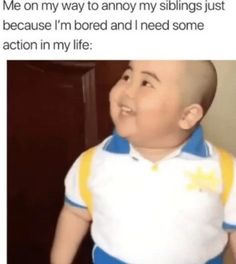 Sibling memes - whether you are looking to troll your brothers and sisters or celebrate National Siblings Day, we are sharing funny memes about siblings! Sister memes, brother memes and sibling memes because HELLO its Funny Sister Memes, Brother Memes, Crazy Funny Memes, Really Funny Memes, Stupid Memes, Funny Relatable Memes, Funny Texts, Funny Jokes, Happy Memes