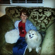 Nephew matei with mikey
