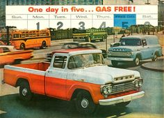 All sizes | 1959 Ford Styleside Pickup & Panel Truck | Flickr - Photo Sharing!