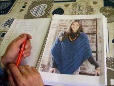 La maglia di Sara. PONCHO ! Schemi e modelli. Part. I - YouTube Make It Yourself, Knitting, Ariel, Crochet, Youtube, Cape Clothing, Ponchos, Patterns, Tricot