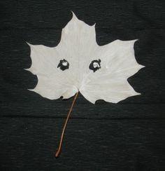 Halloween - listoví duchovia