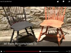 """How to use Milk Paint  Inspiration Colors by Primitiques  Click below for video titled """"How to use Milk Paint""""  http://youtu.be/mdivmjeI-S8  You can purchase our Milk Paint at www.Primitiques.com  Makers of Primitive Early American Colonial Rustic Furniture, Windsor Chairs, Custom Kitchens, Armoires, Make -Do Chairs, and Primitive Smalls."""