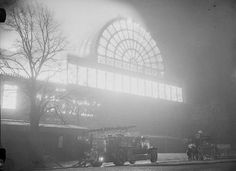Crystal Palace on fire, 30 November Fire engines at the Crystal Palace, Sydenham, London. After housing the Great Exhibition in 1851 the Crystal Palace was dismantled and rebuilt on a site at. Get premium, high resolution news photos at Getty Images Vintage London, Old London, East London, Crystal Palace, Hyde Park, Palace London, London History, Le Palais, Science Museum