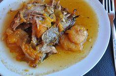 Epaule d'agneau au miel et abricots (cuisson lente)
