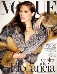 Catherine McNeil on Vogue Spain November 2015 cover